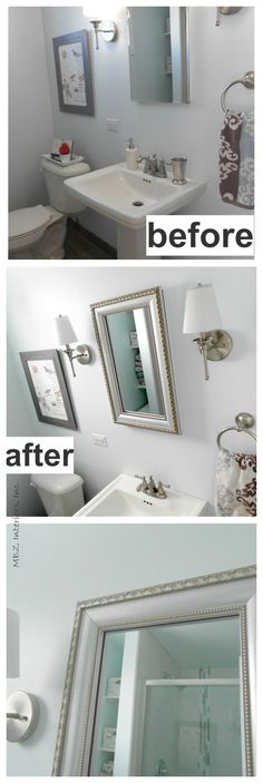 remember when i showed you our small bathroom waybackwhen and how i knew it was definitely missing the finishing touch thankfully mirrormate fu2026