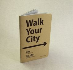 Support walkability and get a limited edition Bound custom journal.