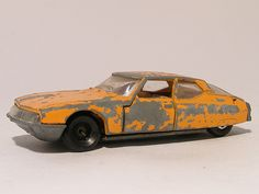 For sale 3.50 Euro >>Citroen SM Maserati Coupe 1972 Majorette - Speelgoedenverzamelshop