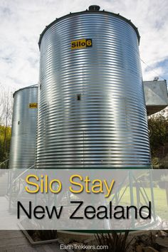Silo Stay, one of the most unique accommodations in New Zealand