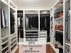 Walk In Closet Furniture . Walk In Closet Furniture . 40 New Ikea Pax Closet White Wardrobe Closet, Walk In Closet Ikea, Ikea Closet Hack, Ikea Closet Organizer, Ikea Pax Wardrobe, Walk In Closet Design, Wardrobe Room, Build A Closet, Closet Designs