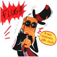 Choripan doodles Cartoon Network, Dr Flug, Villainous Cartoon, Hat Organization, Greatest Villains, Cartoon Fan, Beautiful Series, Doctor Strange, Doodles