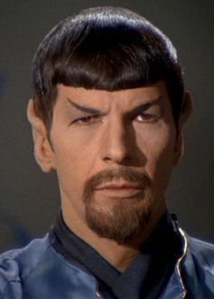Leonard Nimoy as Mirror Universe Spock