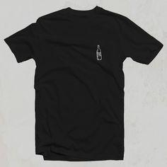 Koszulka PIW - Pij Ile Wlezie - bawełna czarna unisex