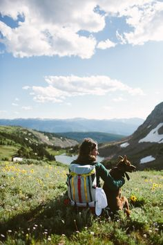 Topo Designs Mountain Pack, enjoying wildflower season in the Rockies. http://topodesigns.com/collections/bags/products/mountain-pack