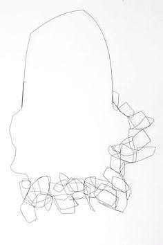 martacarmela sotelo_Geometries poligon necklace