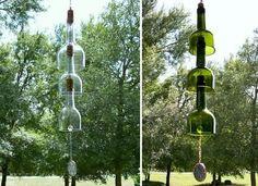 Skvelé nápady ako využiť vínové fľaše   LepšieBývanie.sk
