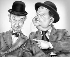 Laurel & Hardy by adavis57