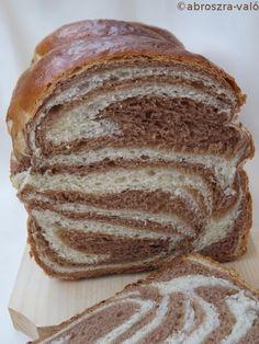 Kipróbált és bevált receptek ...: Csíkos kalács Latte, Muffin, Bread, Food, Challah, Bakken, Brot, Essen, Muffins