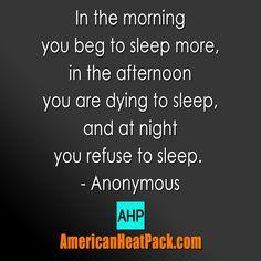 The aggravation of sleep! #americanheatpack #pain #fibromyalgia #fibrofighter #arthritis