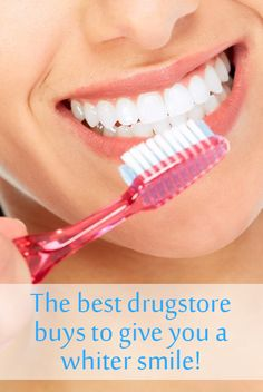 Use these affordable drugstore dental products to get a brighter and white smile on a budget. They are all recommended by professional dentists.