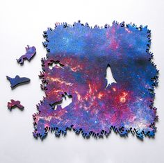 An Infinite Galaxy Puzzle That Can Be Built in Any Direction