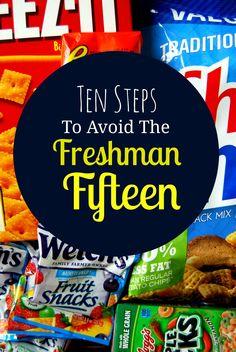 Ten dietitian-approved steps to avoid the freshman fifteen