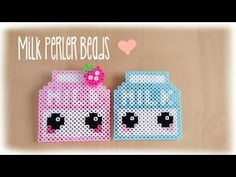 DIY Perler/Hama Beads Cupcake 3D - How to Tutorial by Elegant Fashion 360 - YouTube