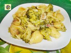 Pasta con broccoli gorgonzola e pancetta Blog Profumi Sapori & Fantasia