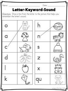 Are you looking to supplement Fundations Level 1 activities? This Phonics Practice Pack supports the teaching in Unit 1 - Letter Formation plus more! Jolly Phonics, Teaching Phonics, Kindergarten Phonics, Preschool, First Grade Words, First Grade Phonics, Handwriting Activities, Alphabet Activities, Mazes For Kids Printable
