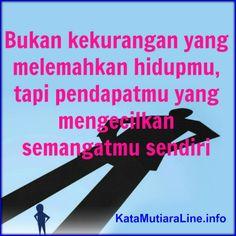 "Kata Mutiara           KataMutiaraLine  - ""Bukan kekurangan yang melemahkan hidupmu, tapi pendapatmu yang mengecilkan semangatmu sendiri""  ...  #katamutiara #kata_mutiara #katamutiaraline #crewz #vja0041t #semangat #katasemangat #inspirasi #katainspirasi #pencerahan #katapencerahan #motivasi #katamotivasi #kehidupan #katakehidupan #sindiran #katasindiran #bijaksana #katabijak #nasehatbijak #katareligius"