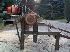 Chainsaw mills log beds   The Logosol M7 Portable SawMill