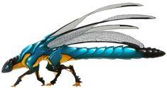Dragonfly dragon by greyanimebeast
