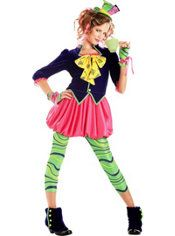 Teen Girls Sweet Mad Hatter Costume
