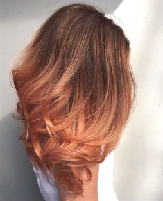 Peach Ombre @joanntupponceinc #ombreHair