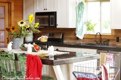 Creative Cain Cabin: 1st Most Visited Post of 2012 - Rustic Log Home Kitchen