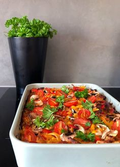 Easy Delicious Recipes, Yummy Food, Bruschetta, Bon Appetit, Vegetable Pizza, Feta, Nom Nom, Vegetables, Cooking
