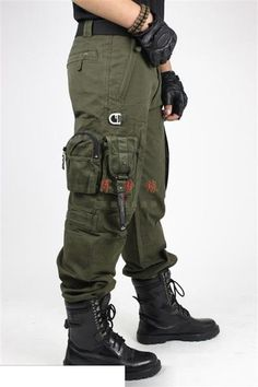 See Full Description Below... description Features: A high quality, very durable pair of pants designed as tactical pants with several pockets and features desi