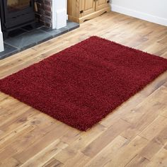 Small X Extra Large Thick Modern 5cm High Pile Plain Soft Non Shed Gy Rugs