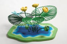 Neat 3 d quilling Quilling Paper Craft, Quilling Flowers, Quilling Patterns, Paper Quilling, Paper Flowers, Paper Crafts, Quilling Ideas, Quilling Cards, Quilling Designs