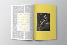 Tirade Magazine on Editorial Design Served