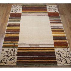 alfombra moderna de pura lana virgen modelo coimbra color bereber