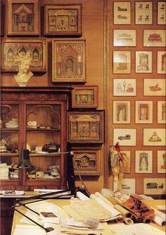 Renzo Mongiardino's Apartment. Photo - House & Garden's Best in Decoration, 1987. Source: indecoroustaste.com