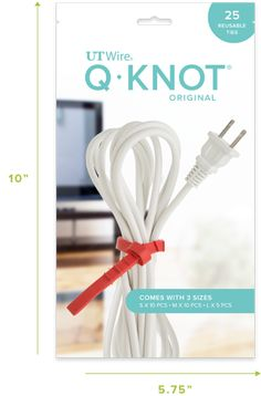Q-Knots® Multipurpose Reusable Cable Ties - UT Wire