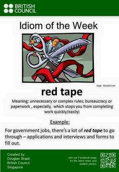 Cut through the red tape