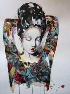 Street art by Sandra chevrier