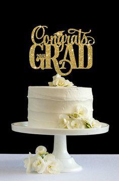 "Edible Icing Sheet PERSONALISED Congrats Graduation 7-8/"" Circle Cake Topper"