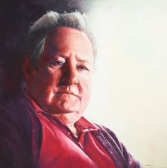 Raelene Sharp, 2012, A Strength of Character. Sharp's portrait of actor John Wood won the Packing Room Prize ahead of the Archibald Prize. The Packing Prize is chosen by the store workers who set up the exhibition. None of the past Packing Prize winners have won the main Archibald Prize.  Image source: Art Gallery of NSW:   http://www.artgallery.nsw.gov.au/prizes/archibald/2012/29210/