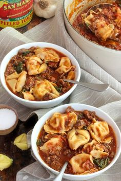 Recipe: Italian Sausage and Tortellini Soup