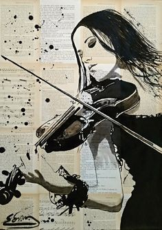 Hey, I found this really awesome Etsy listing at https://www.etsy.com/listing/490667606/la-violoniste