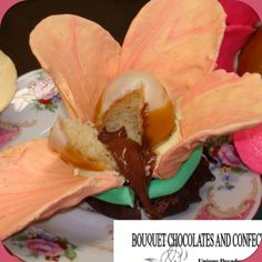 Pamper yourself with decadent beautiful chocolate. Self care is empowering!!! 411@ www.bouquetchocolates.com #chocolate