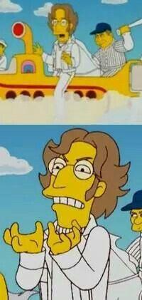 Simpsons Lennon