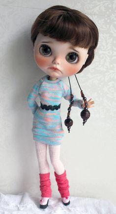 Akleja OOAK Custom Blythe Doll by Meadowdoll por meadowdolls