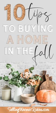 Did you know studies have found October is the best month to buy a home?! Well now you know! If you're thinking about buying a home this fall season you'll want to take in consideration these ten tips. #realestate #homebuyer #buyinghome #homebuyingtips #fallhome #autumn Home Buying Tips, Home Buying Process, Real Estate Buyers, Real Estate Information, Looking To Buy, Types Of Houses, Autumn Home, Fall Season, Consideration