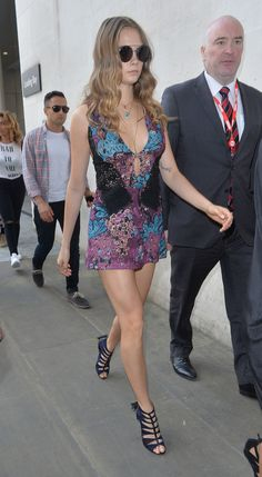 Cara Delevingne Arrives at BBC Radio 1 in London 06/18/2015