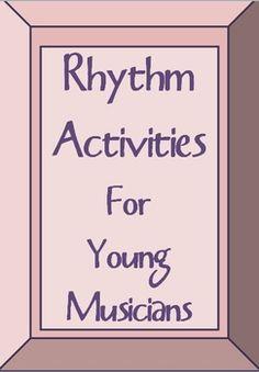 Music Theory:  #RHYTHM Activities.     #musiceducation       #musedchat