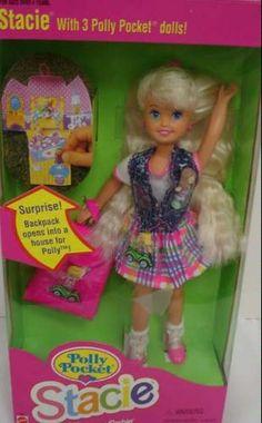 Barbie Polly Pocket Stacie Doll