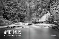 Amazing photographs of North Carolina waterfalls.  High Country Magazine