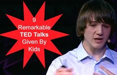 9 remarkable ted talks given by kids Educational Activities for Middle School Ted Talks For Kids, Ted Talks For Teachers, Ted Talks Education, Kids Education, Middle School Ela, High School, Ted Videos, Genius Hour, Instructional Coaching