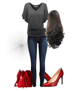 """""""That top"""" by prarieprincess on Polyvore featuring Stuart Weitzman and Gabriella Rocha"""